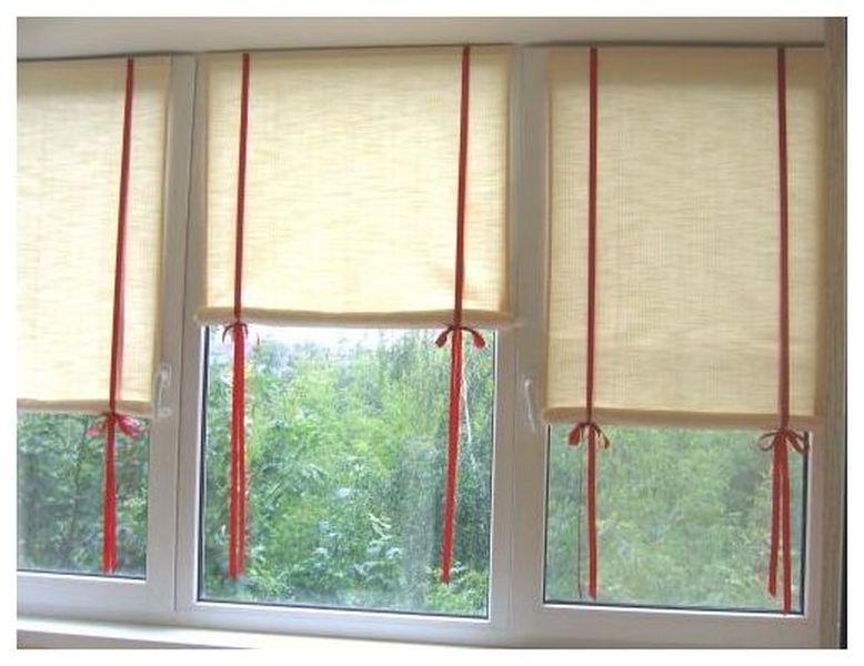 Рулонные шторы своими руками мастер класс фото